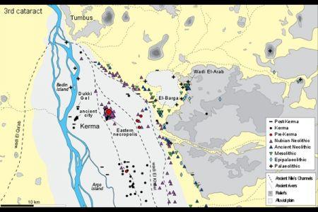 01. Carte des prospections / Survey map